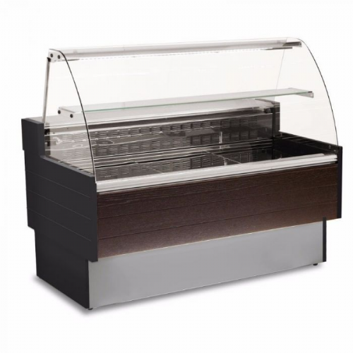 Sterling Pro KIBUK100 Serveover Counter, 1m / 0.6 m² Deck